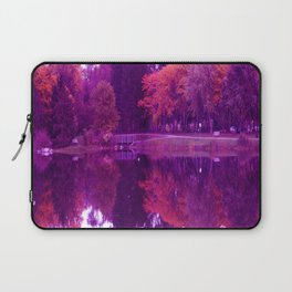 Purple Haze Panorama Laptop Sleeve