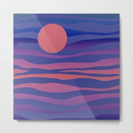 WOW Sunset #society6 #buyart #decor Metal Print