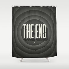 The End Shower Curtain