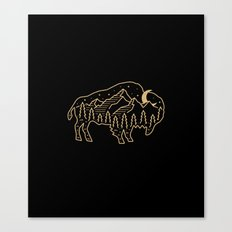 Nature of the Beast (2) Canvas Print