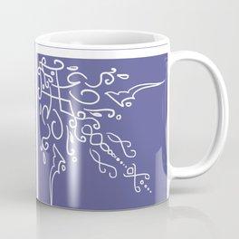 Lavender Shelf Coffee Mug