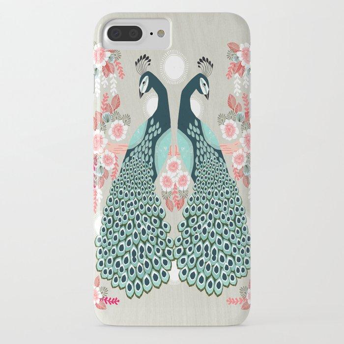 Peacocks by Andrea Lauren  iPhone Case