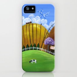 Hilly Heights iPhone Case