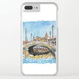 Seville, Spain Clear iPhone Case
