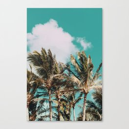 Palm Trees and Island Breeze Canvas Print