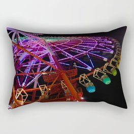 Rainbow Wheel Rectangular Pillow