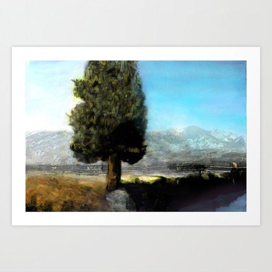 Wyoming Mystic Art Print