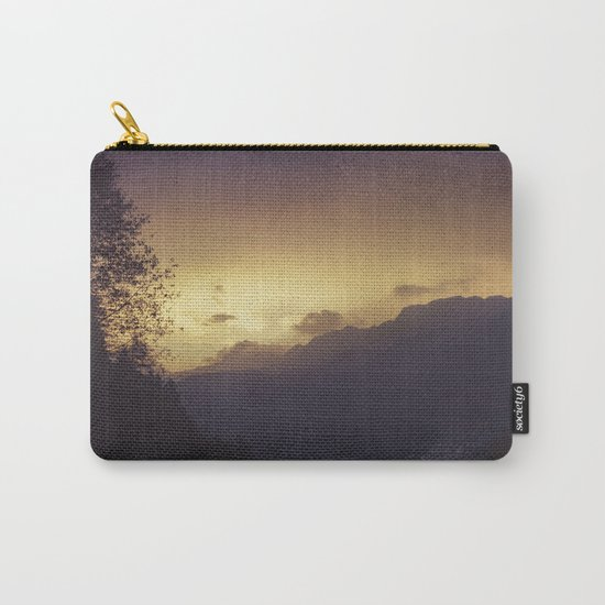Chasing the night away Carry-All Pouch