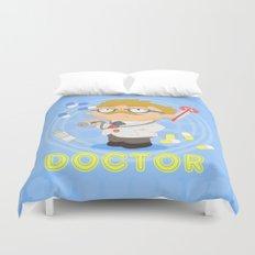 Doctor Duvet Cover
