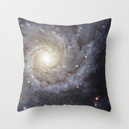 Galaxy M74 Throw Pillow