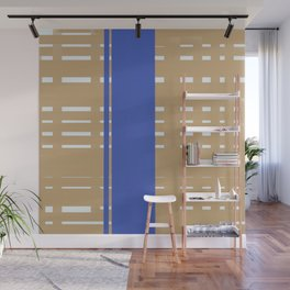 80s Retro Abstract Wall Mural
