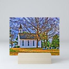 Church in the Wildwood Mini Art Print