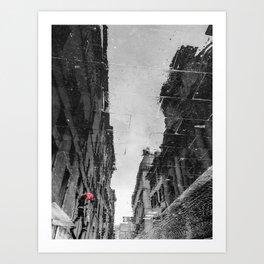 Roaming in Rome Art Print