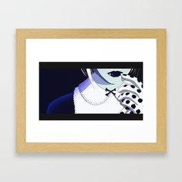Crossbones Framed Art Print