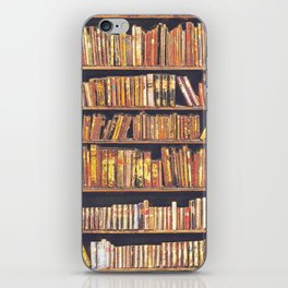 Books, books, books iPhone Skin