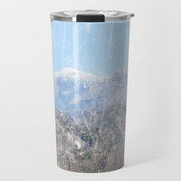 Snow-capped Mountains Travel Mug