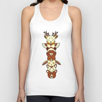totem Tank Tops featuring Totem by Freeminds