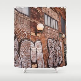 East Village Streets III Shower Curtain