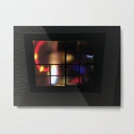 Muffled Lights Metal Print