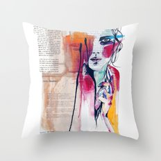 Sense V Throw Pillow