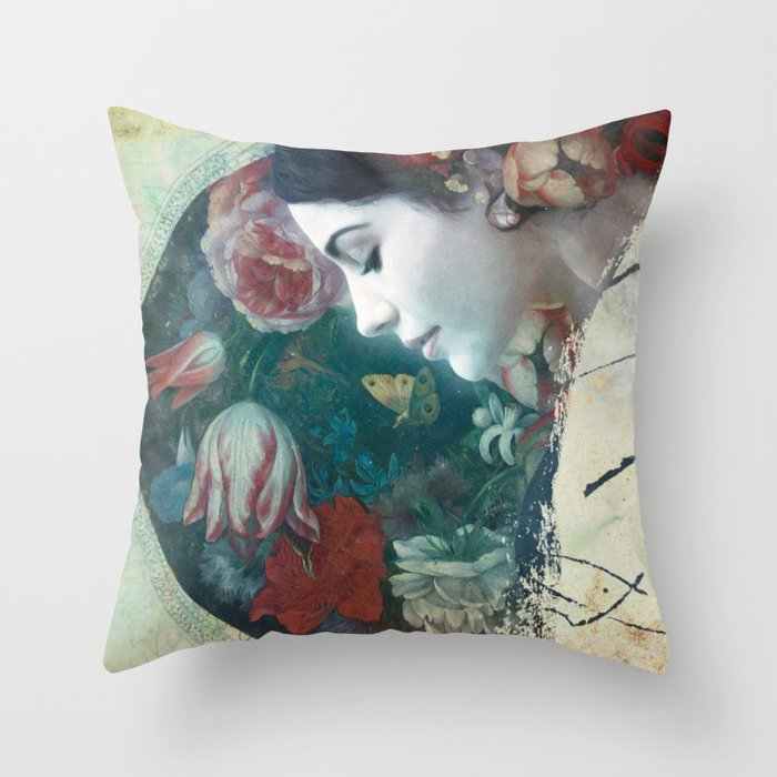 Frigiliana, an ode to Spain Throw Pillow
