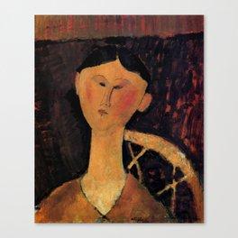 "Amedeo Modigliani ""Beatrice Hastings"" 1915 Canvas Print"
