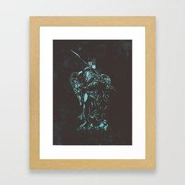 Censored Saints #4 Framed Art Print