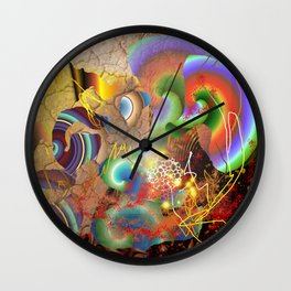 Ancient Mysteries Wall Clock