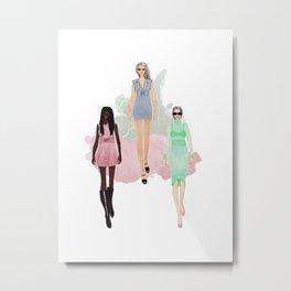 Fashionary 6 Metal Print