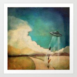 Spot Goes to Mars Art Print