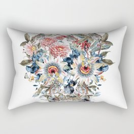 SKULL FLORAL Rectangular Pillow