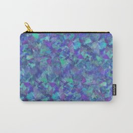 Iridescent Fragments Carry-All Pouch