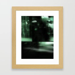 Le Procope - Glitch 01 Framed Art Print