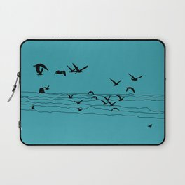 Seagull Beach by Seasons K Designs Laptop Sleeve
