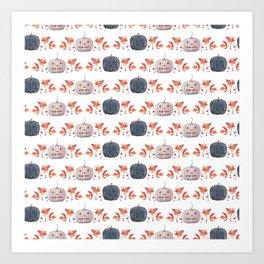 WATERCOLOR BOO Art Print