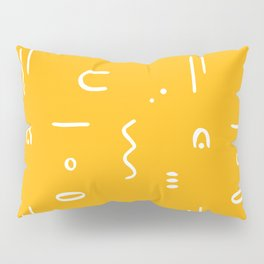 Peppy (sunshine yellow) Pillow Sham