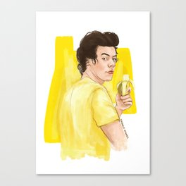 Harry is all yellow Canvas Print