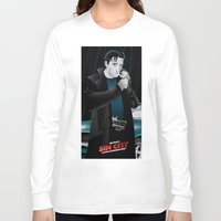 dwight schrute Long Sleeve T-shirts featuring Sin City-Dwight by Szoki