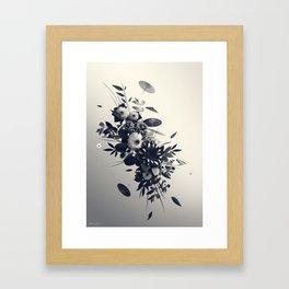 Décembre Framed Art Print