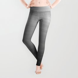 Touching Black Gray White Watercolor Abstract #1 #painting #decor #art #society6 Leggings