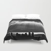 skyline Duvet Covers featuring Skyline by ArtBite