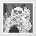 The Grumpiest Astronaut by davidbrunellbrutman