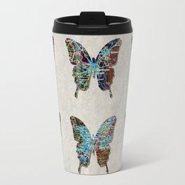 butterfly collection usa o2 Travel Mug