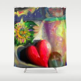 Dream Collage  Shower Curtain