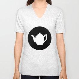 Teapot Unisex V-Neck