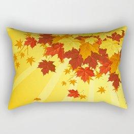 Autumn Leaves 7 Rectangular Pillow