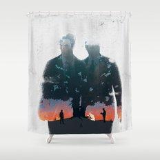 True Detective - The Long Bright Dark Shower Curtain