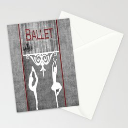 Ballet Series 1 Stationery Cards