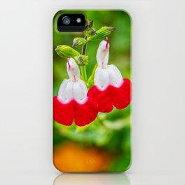 Hot Lips Flower iPhone Case