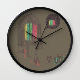 Identity Crisis Wall Clock